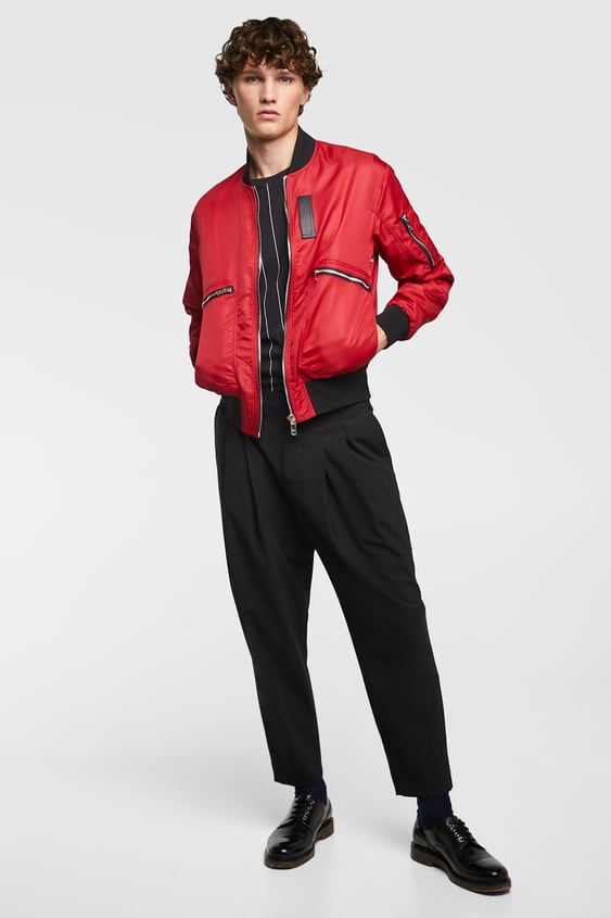 bd7cd0e35f7a BOMBER JACKET WITH POCKETS - View All-JACKETS-SALE-MAN