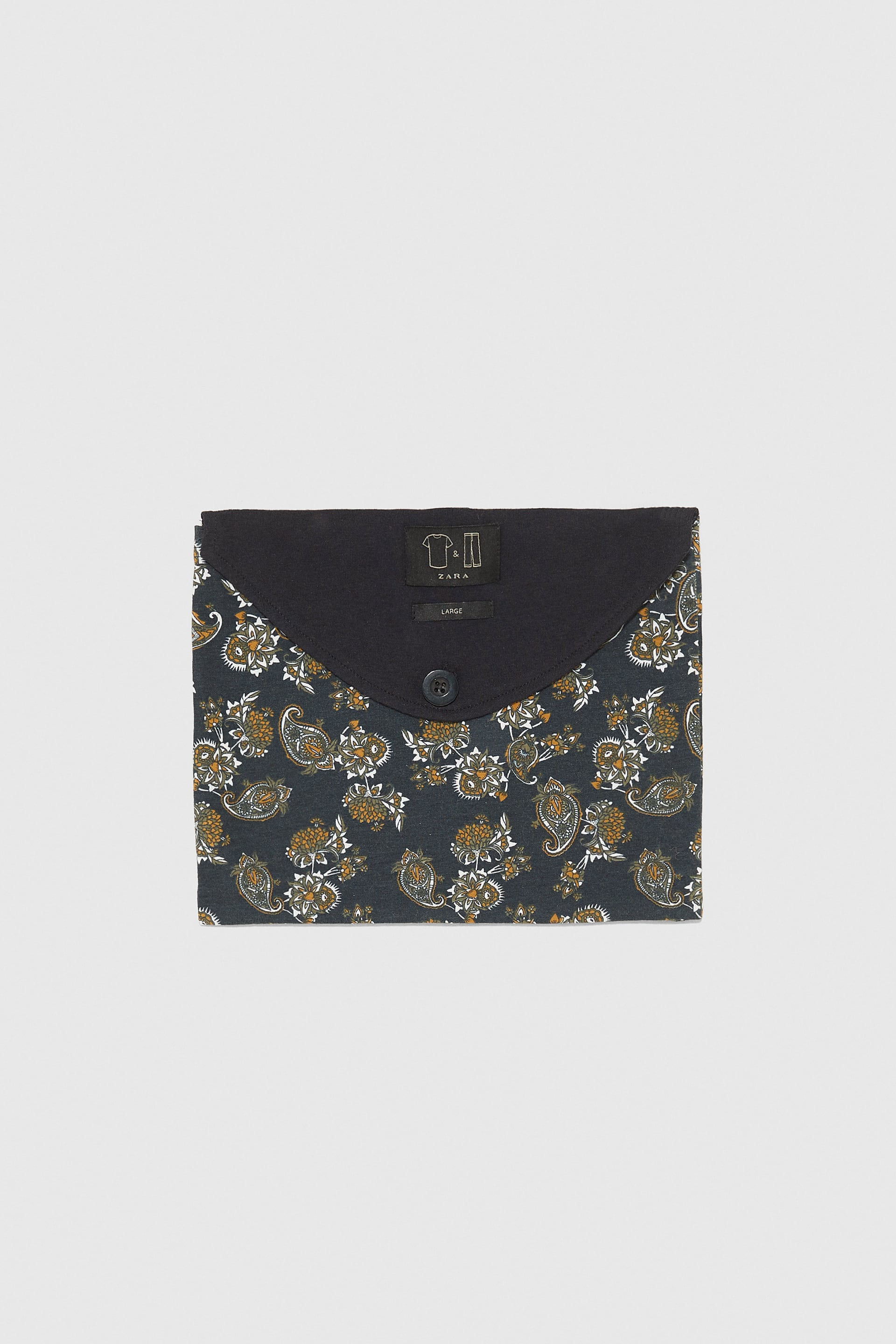 Pack Of Paisley Cotton Pyjamas  View All Accessories Man by Zara