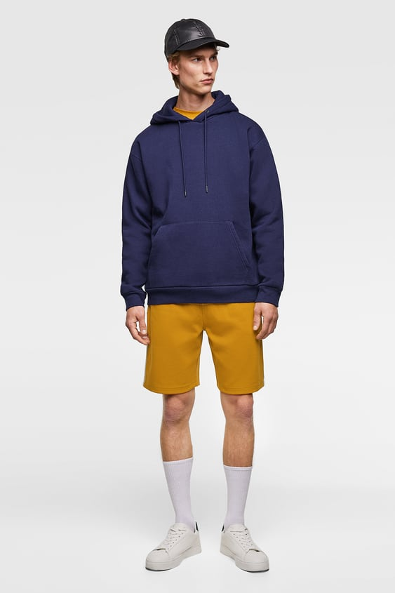Jogging Shorts With Side Stripes  Side Stripes Shorts Man by Zara