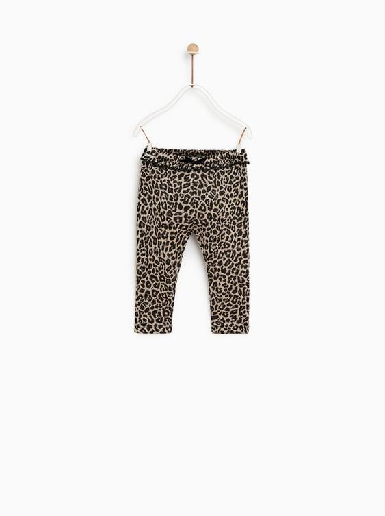 Animal Print Pants  New Inbaby Girl by Zara