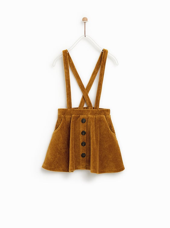 6a06e0c908 CORDUROY SKIRT WITH BRACES - SKIRTS | SHORTS-GIRL | 5 - 14 years ...