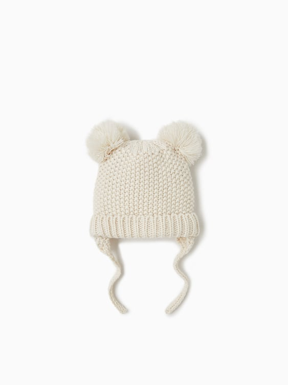 Pompom Hat  Hats, Scarves And Gloves Accessories Baby Girl by Zara