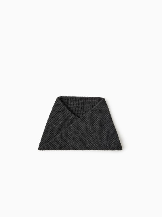 Waffle Knit Snood  View All Accessories Boy by Zara