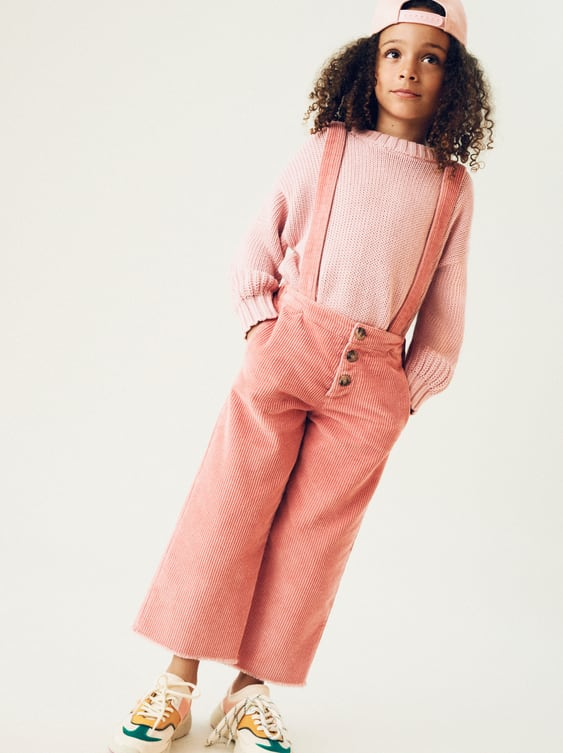 f43d8442a42 CORDUROY CULOTTES WITH BRACES - STARTING FROM 50% OFF-SALE-GIRL