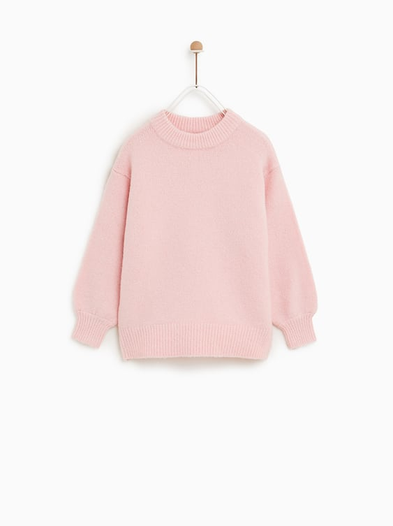 dbe890dabd80 Sweater With Balloon Sleeves View All Knitwear Girl by Zara