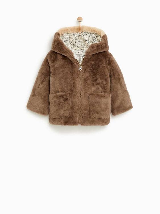 3442dd67 FAUX FUR CAT JACKET - OUTERWEAR-BABY GIRL | 3 months - 4 years-KIDS ...