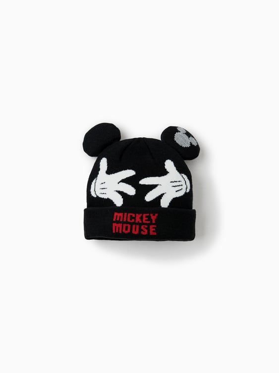 ab7e05d29c0 Allcaca Kids Winter Hat 3 Pieces Set Baby S Boys. Mickey Mouse Hat. Hats  Scarves And Gloves Accessories Baby Boy 3 Months 4 Years