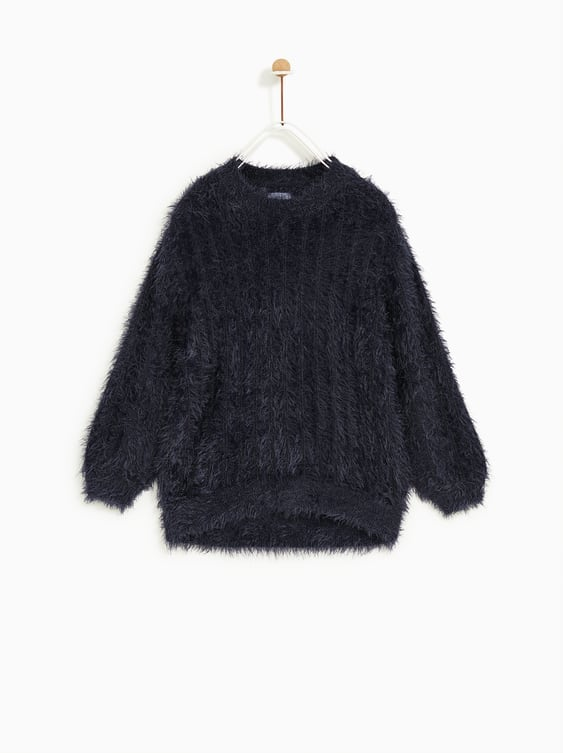 Feather Look Sweater by Zara