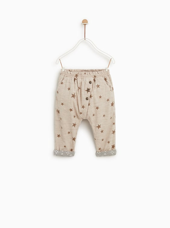 6f8eb5b875 FINE - WALED CORDUROY STAR PANTS-PANTS-BABY GIRL | 3 months - 4 ...