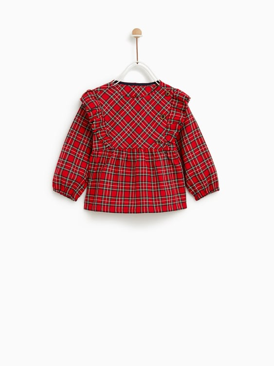 491718df CHECKED SHIRT - TOPS-BABY GIRL | 3 months - 4 years-KIDS-SALE | ZARA ...