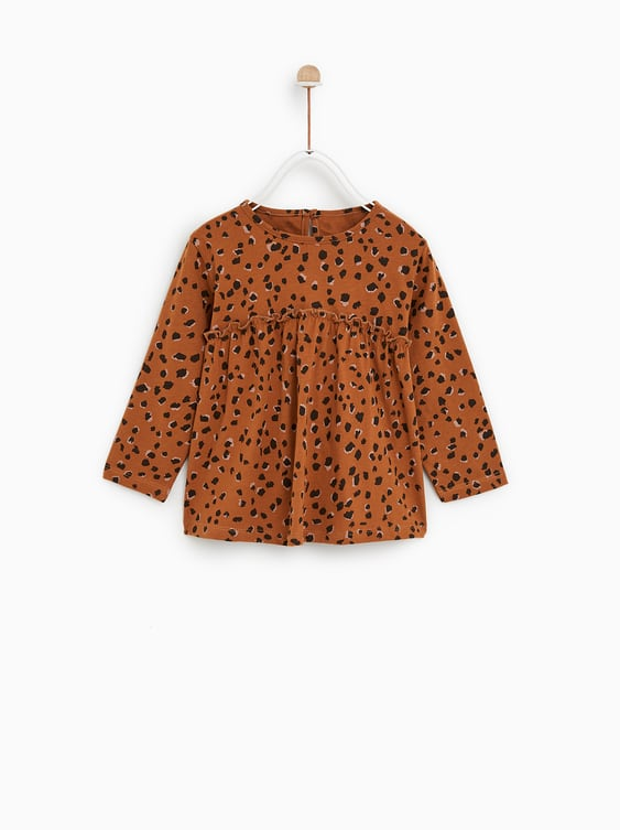 896278413d1e Shoptagr | Animal Print Oversized Top View All Tops Sale Baby Girl ...