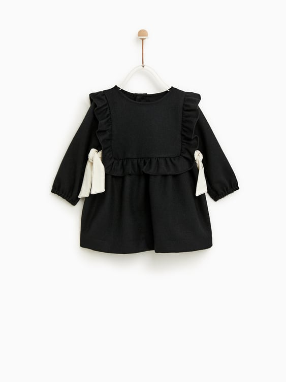 Dress With Bows Tops Sale Baby Girl 3 Mth 4 Yrs Kids Zara