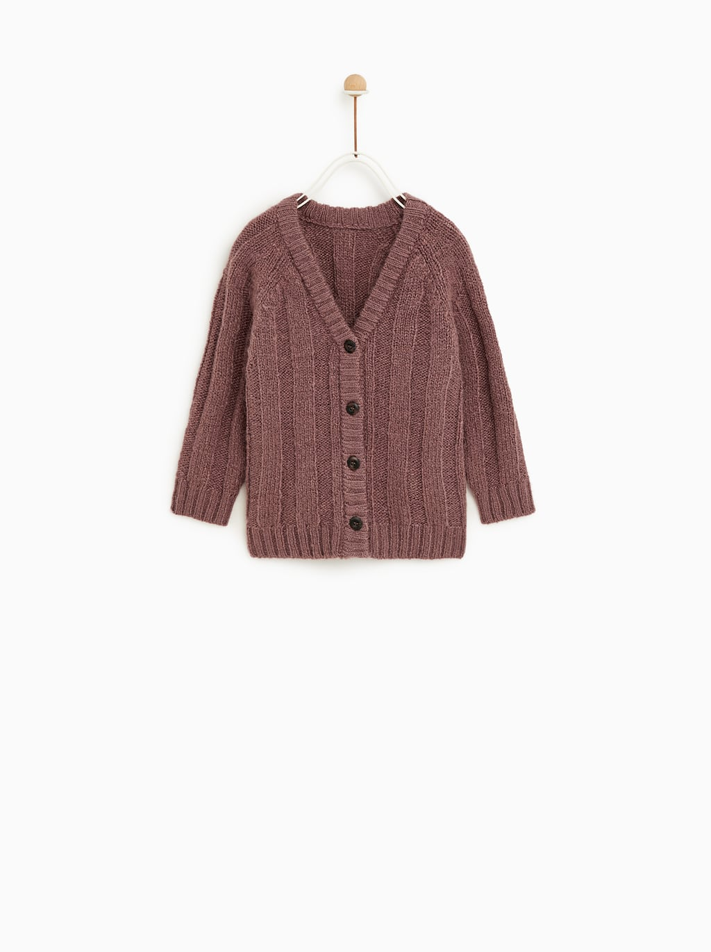 Image 1 of LONG CARDIGAN from Zara