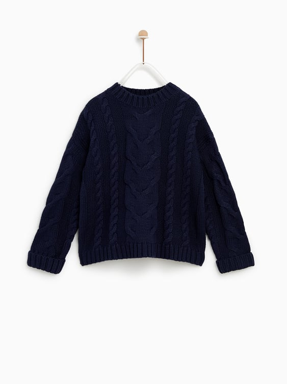 Cable Sweater  Up To 40 Percents Girl by Zara
