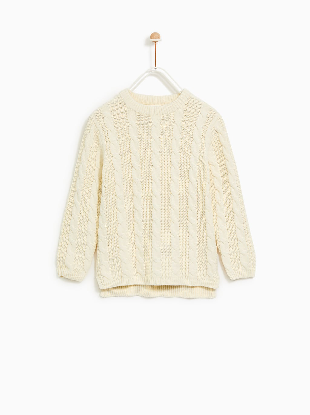 Image 2 of CABLE SWEATER from Zara