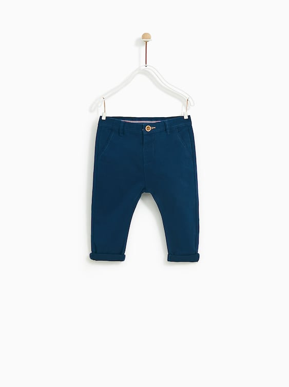 074d13f67 BASIC CHINOS - PANTS-BABY BOY | 3 months - 4 years-KIDS-SALE | ZARA ...