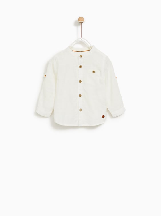 STRUCTURED SHIRT - COLLECTION-SALE-BABY BOY  9ccd5c4ac32