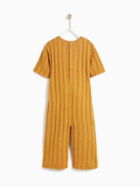 74348ef7f9 RIBBED CULOTTE JUMPSUIT - DRESSES AND JUMPSUITS-GIRL