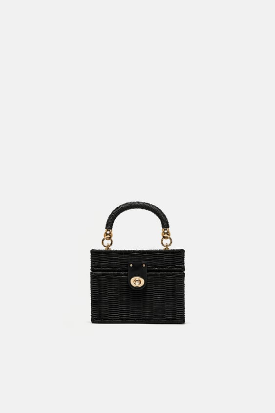 Image 1 Of MinaudiÈre Bag With Braided Handle From Zara