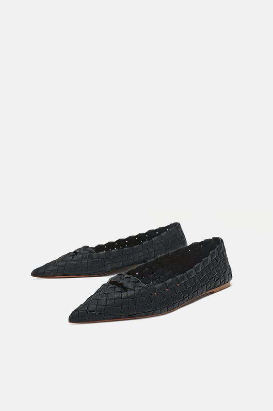 528350ef5 WOVEN BALLET FLATS - STARTING FROM 50% OFF-WOMAN-SALE | ZARA United ...