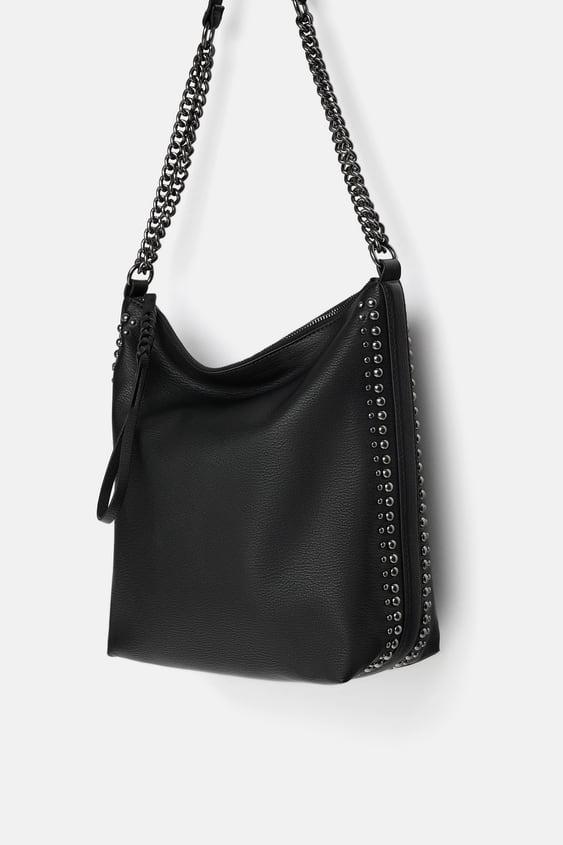 Buideltas Met Kettingen  Shoulder Bags Tassen Dames by Zara
