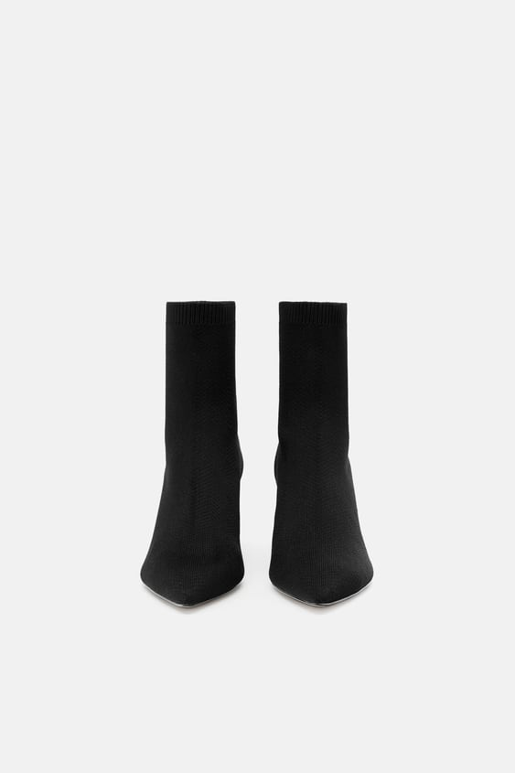 57725fb0c72 FABRIC HIGH HEEL ANKLE BOOTS - View all-WOMAN-SHOES