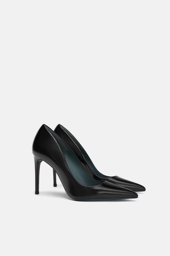 Leather Pumps  Shoes With Shoeshoes Ladies by Zara