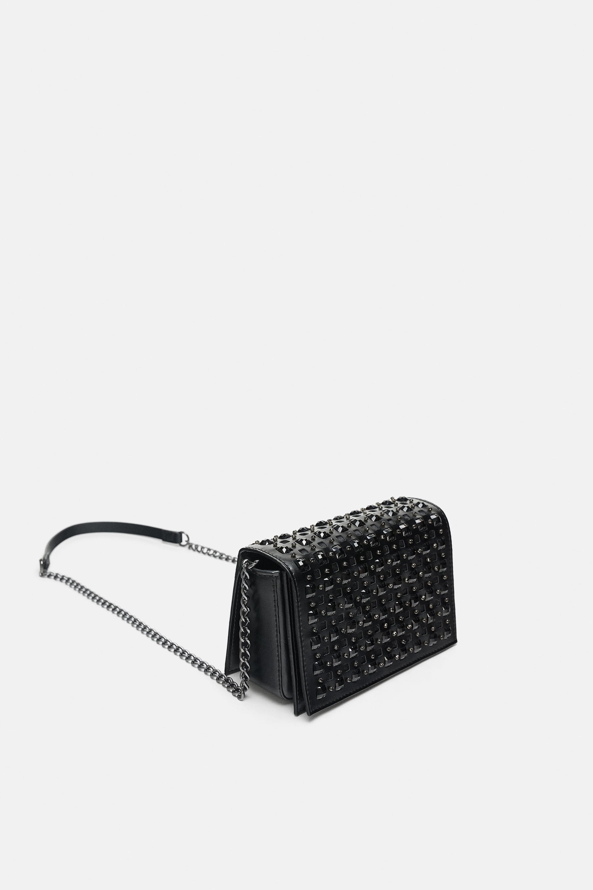 Image 1 of SPARKLY CROSSBODY BAG from Zara