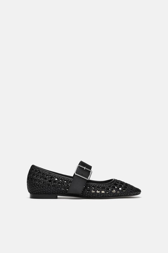 Women S Flat Shoes Online Sale Zara United States