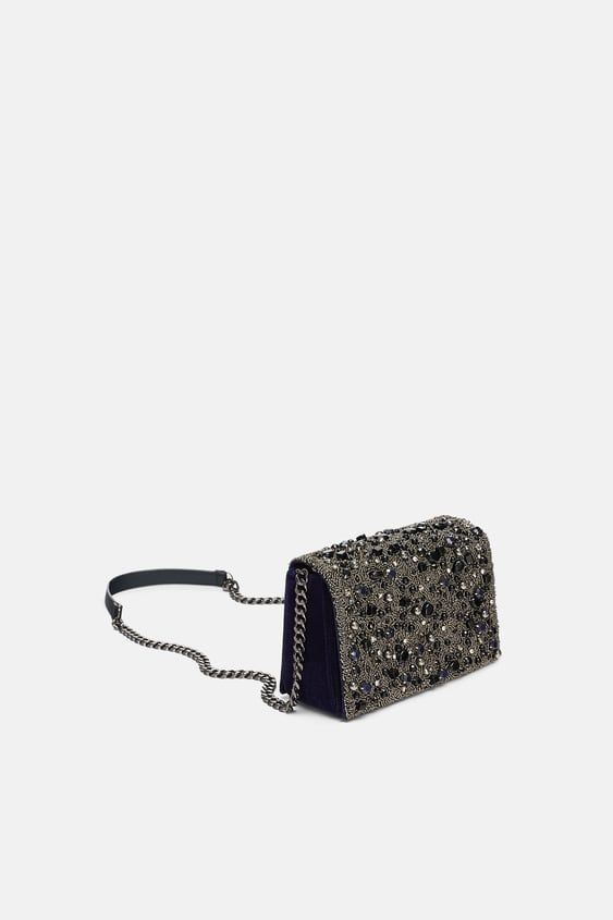 Bejewelled Crossbody Bag  View All Dress Time Woman Corner Shops by Zara