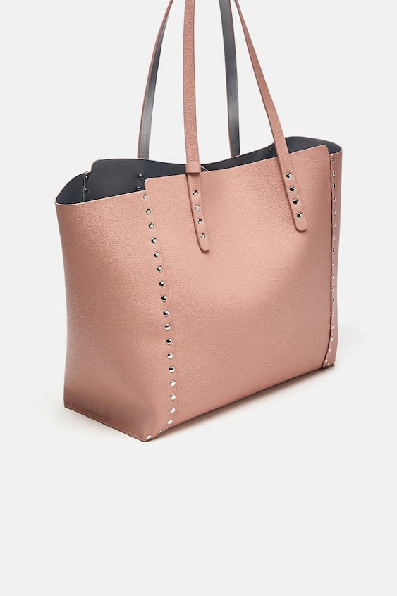 Image 1 Of Studded Reversible Per Bag From Zara