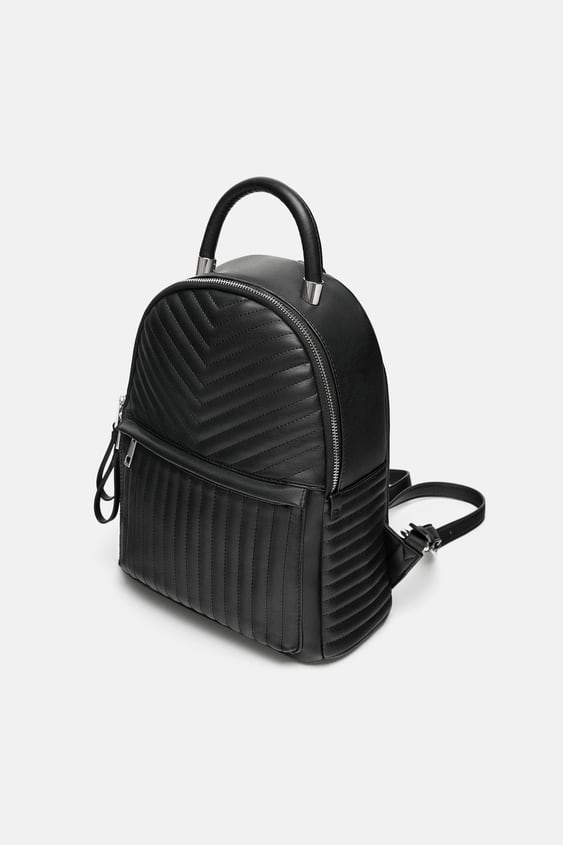 Quilted Backpack  It's Winterwoman by Zara