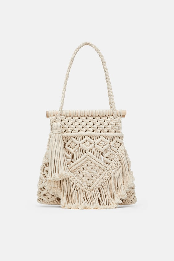 Image 2 of FABRIC SHOPPER from Zara