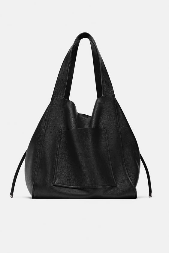 Image 2 Of Leather Per From Zara
