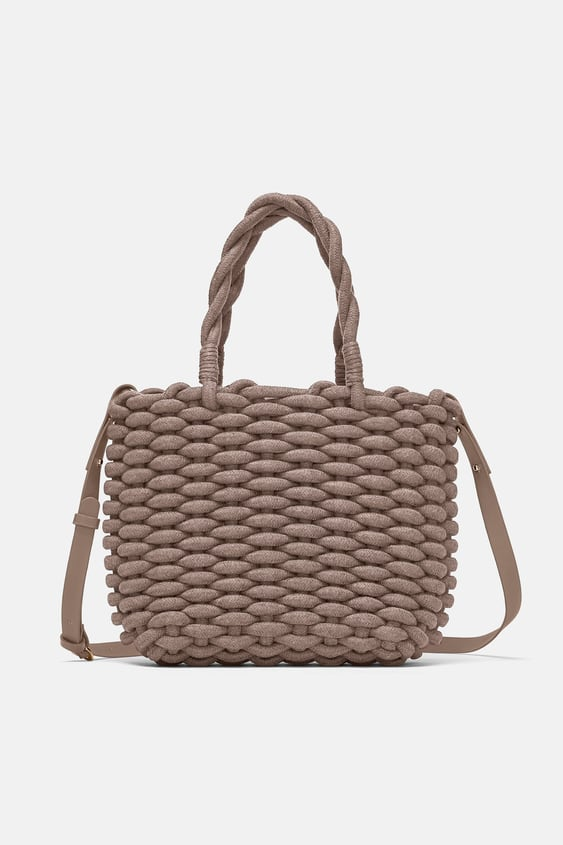 Braided Rope Tote Available In More Colours