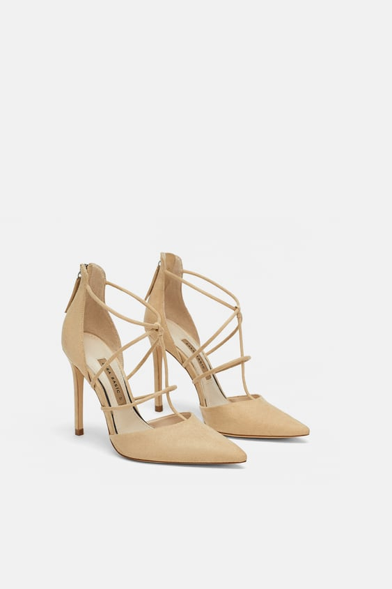 Strappy High Heel Shoes View All Shoes Woman Sale Zara United