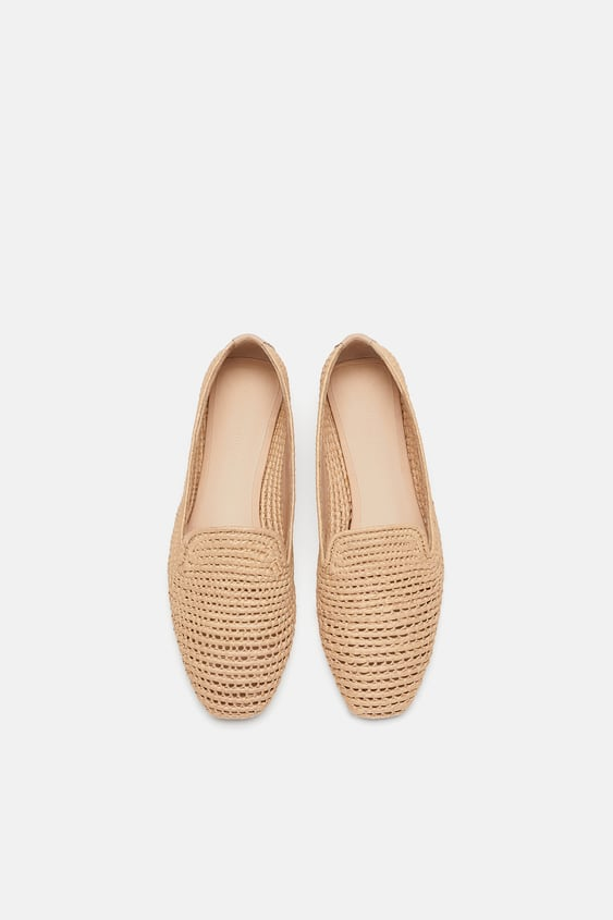 Woven Moccasin  View All Bags Woman Sale by Zara