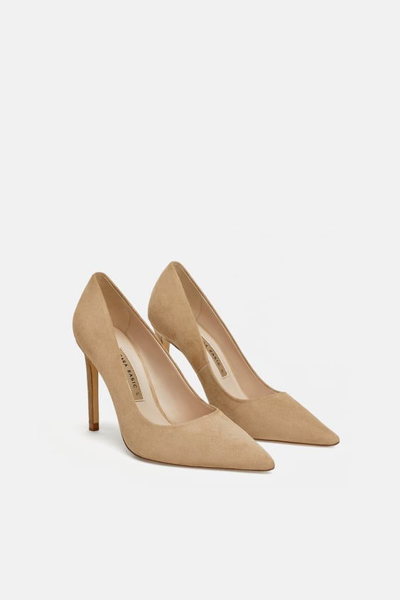 7125daee68f LEATHER HIGH - HEEL COURT SHOES-View all-WOMAN-SHOES