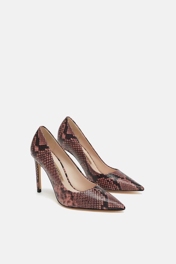 a3058ec20c4 LEATHER HIGH - HEEL SHOES-High-heels-SHOES-WOMAN