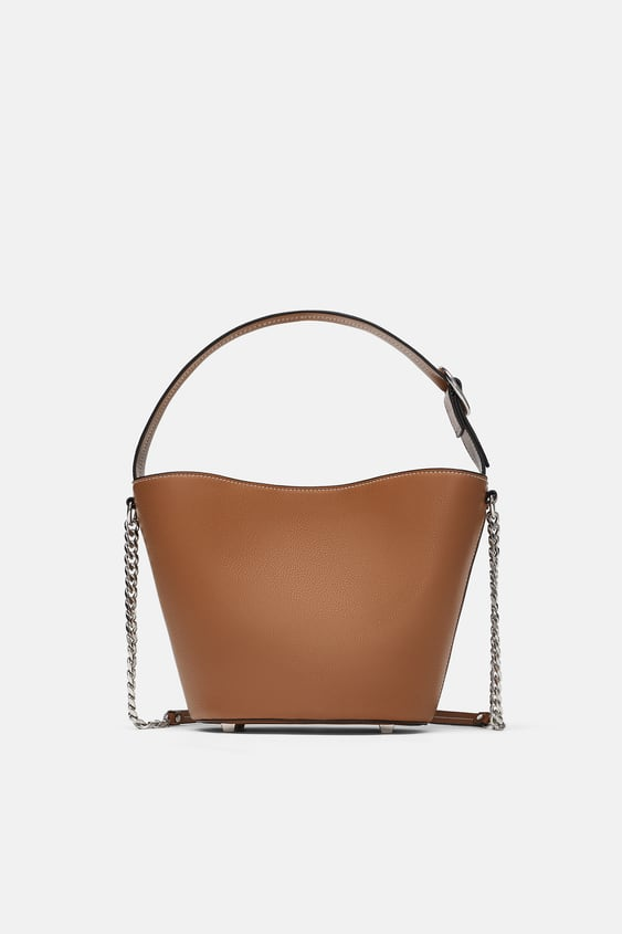 Medium Tote Bag With Buckle