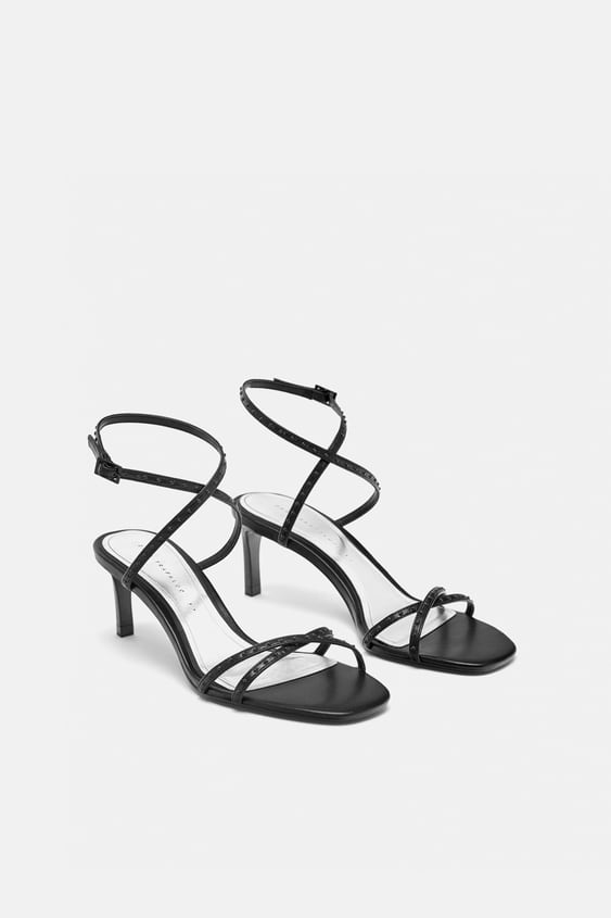 Micro  Blotted Sandalsshoes Trf by Zara