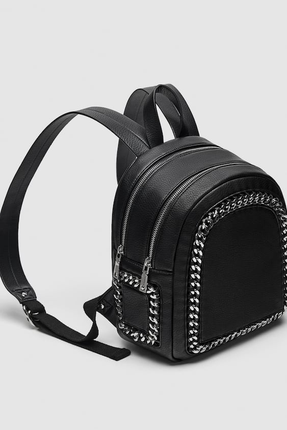 Chain Backpack  Προβολή όλωνΤΣΑΝΤΕΣ ΓΥΝΑΙΚΕΙΑ by Zara