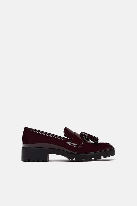 aa581ef08037 Image 2 of TASSELLED LOAFERS from Zara. Flat shoes ...