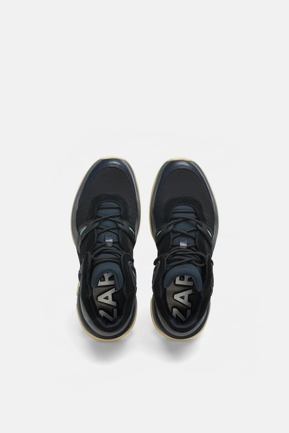 High  Top Sneakers Sneakers Woman Shoes by Zara