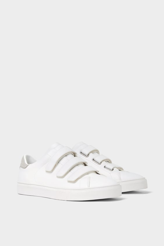 Sneakers With Straps  View All Shoes Man Sale by Zara