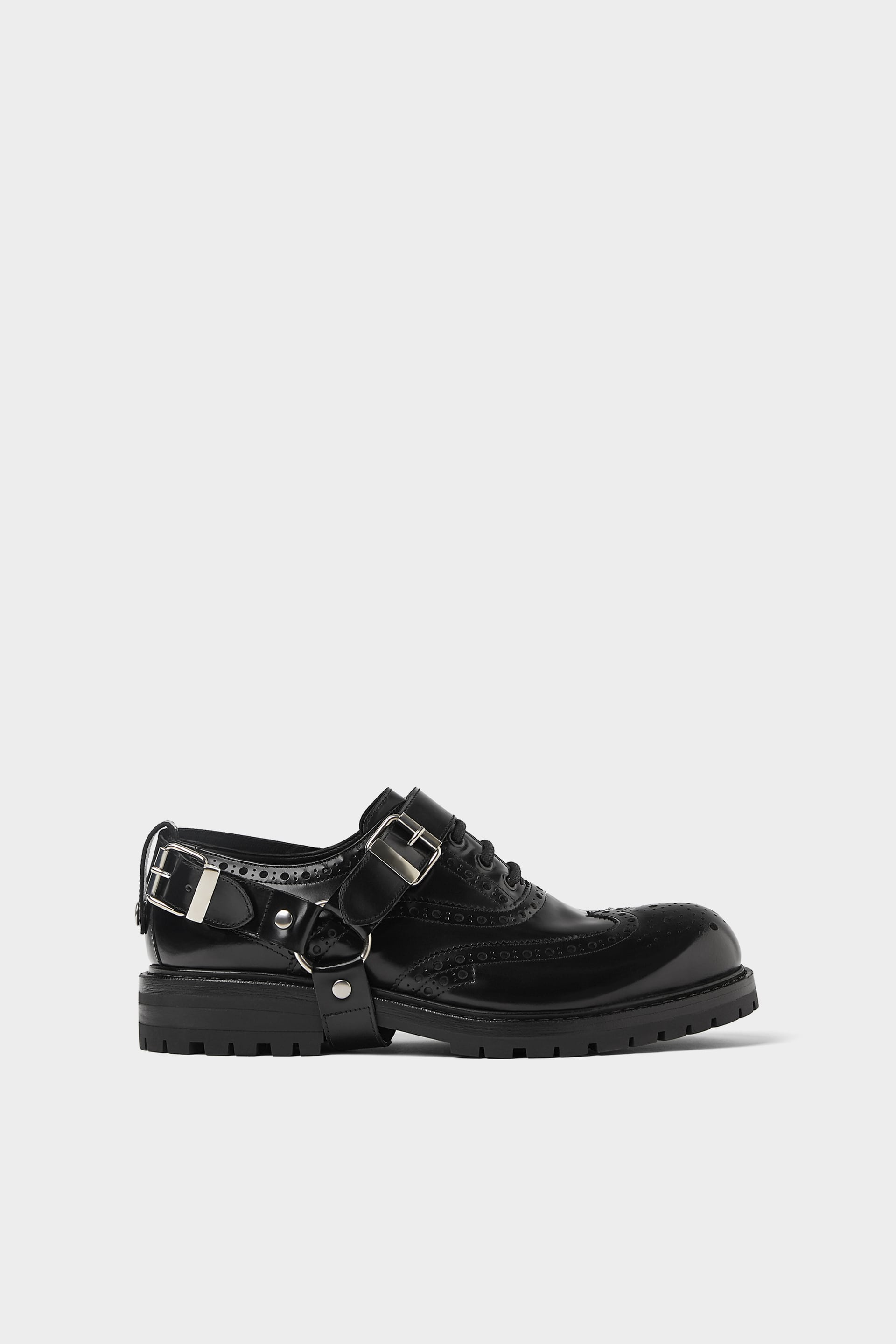 Leather Harness Shoes  Smart Shoes Shoes Man by Zara