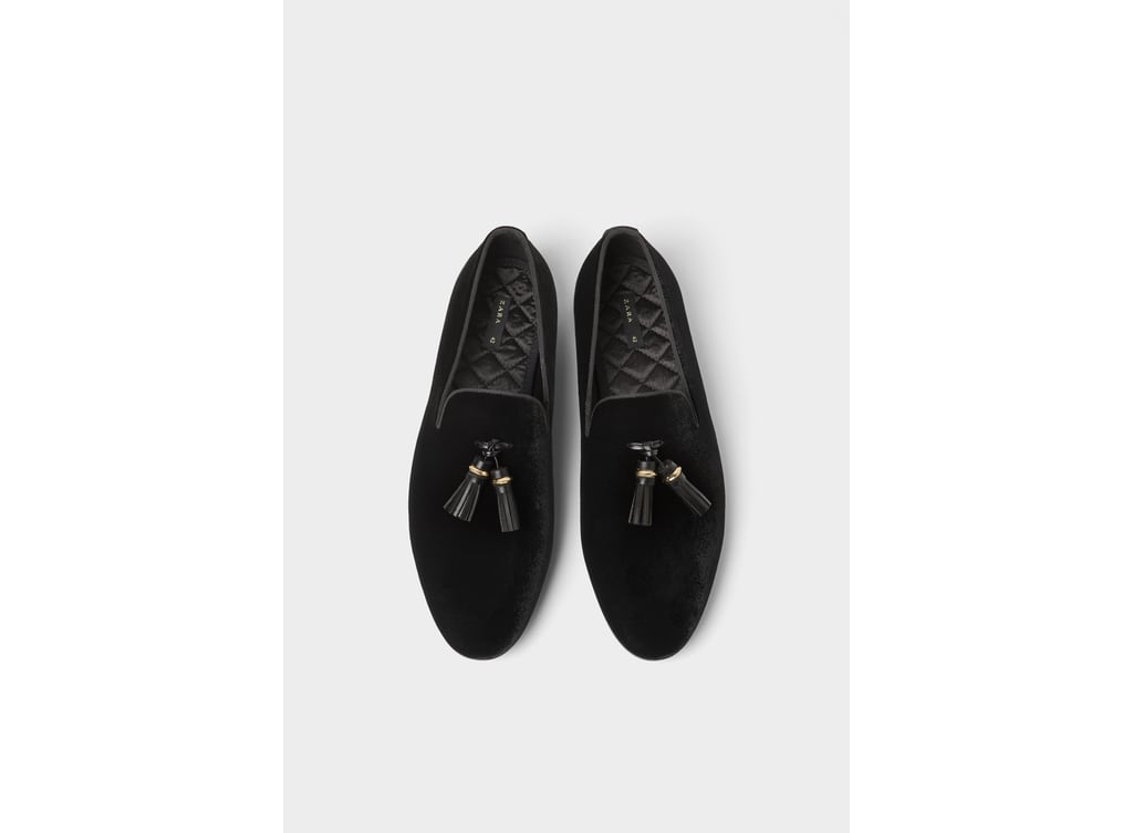 6acf545a4f0ff9 VELVET LOAFERS