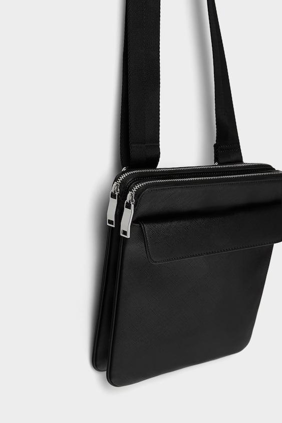 09cf57bdfd Image 1 of BLACK MINI CROSSBODY BAG from Zara
