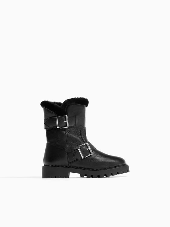 LINED LEATHER ANKLE BOOTS - ACCESSORIES-SALE-GIRL   5 - 14 yrs-KIDS ... f8adfd592d