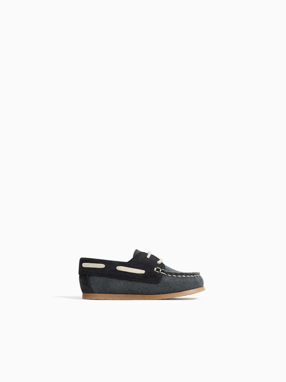 Textile Boat Shoes  Shoes And Sandals Shoes Baby Boy by Zara